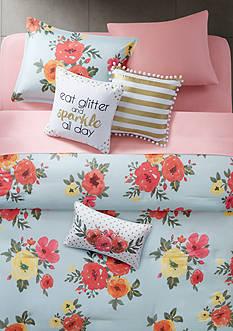 Back to Class Samantha Twin/Twin XL Comforter Mini Set
