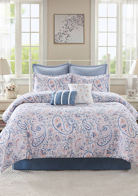 Home Accents 174 Maddie 8 Piece Bed In A Bag Belk