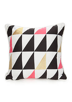 Best in Class Embroidered Triangle Decorative Pillow