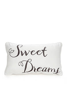 Best in Class Embroidered Sweet Dreams Decorative Pillow