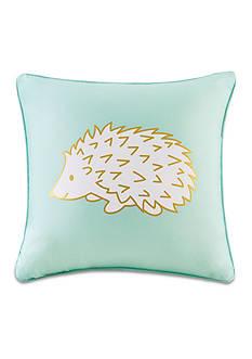 Back to Class Hedgehog Decorative Pillow
