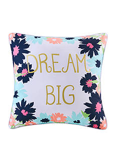 Back to Class Dream Big Decorative Pillow
