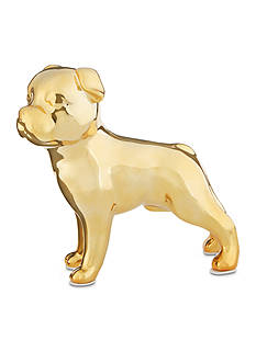 Best in Class Gold Metallic Ceramic Boston Terrier