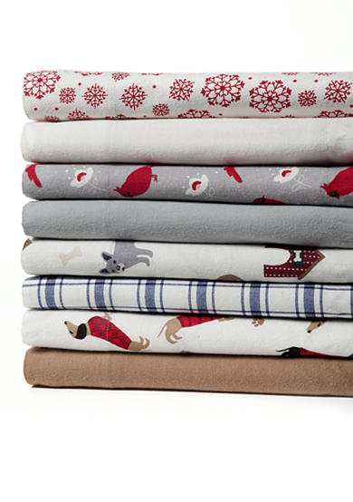 Home Accents® Flannel Sheet Set