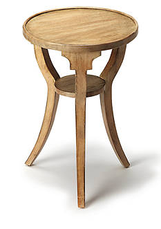 Butler Specialty Company Dalton Driftwood Round Accent Table