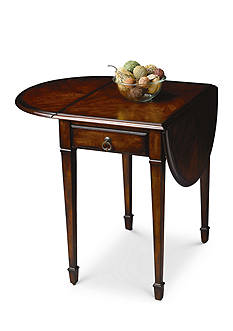 Butler Specialty Company Glenview Plantation Cherry Pembroke Table