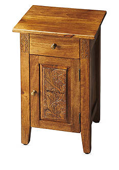 Butler Specialty Company Webster Hand Carved Chairside Chest