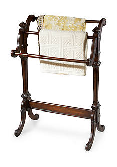 Butler Specialty Company Newhouse Plantation Cherry Blanket Stand