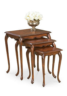 Butler Specialty Company Thatcher Plantation Cherry Nest of Tables