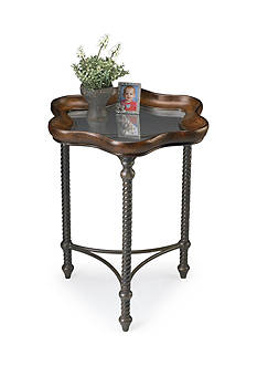 Butler Specialty Company Pamela Glass Metal Accent Table