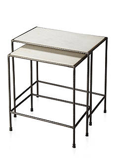 Butler Specialty Company Carrera Marble Nesting Tables