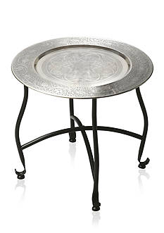 Butler Specialty Company Moroccan Metal Tray Table