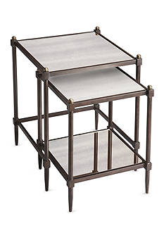 Butler Specialty Company Peninsula Mirrored Nesting Tables