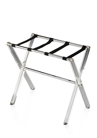 Butler Specialty Company Crystal Clear Acrylic Luggage Rack