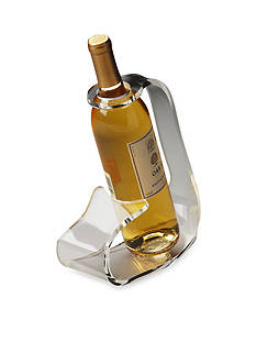 Butler Specialty Company Crystal Clear Acrylic Wine Bottle Stand
