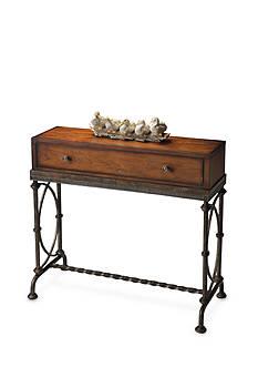 Butler Specialty Company Josef Metal and Wood Console Table