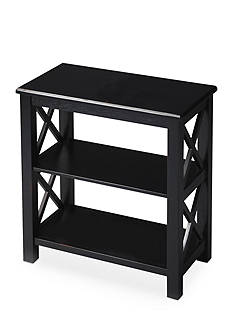 Butler Specialty Company Vance Black Licorice Bookcase