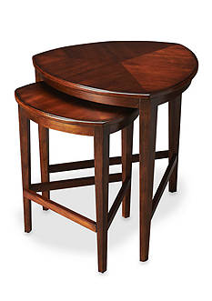 Butler Specialty Company Finnegan Antique Cherry Nesting Tables