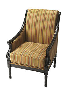 Butler Specialty Company Wexford Black Licorice Accent Chair
