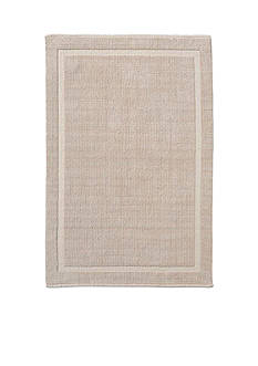 GRUND Grund Organic Cotton Bath Rug, Lao Series, 21-Inch by 34-Inch, Sand