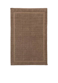 GRUND Grund Organic Cotton Bath Rug, Lao Series, 21-Inch by 34-Inch, Latte