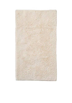GRUND Grund Organic Cotton Bath Rug, Namo Series, 21-Inch by 34-Inch, Cream