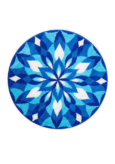 GRUND Ice Castle Round Rug Collection