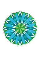 GRUND Sunrise Round Rug Collection
