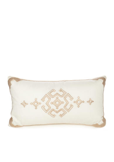 Modern. Southern. Home.™ Carson Embroidered Boudoir Decorative Pillow