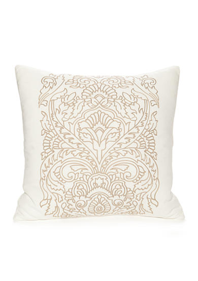 Modern Crewel Pillow : Modern. Southern. Home. Carson Crewel Embroidered Medallion Decorative Pillow Belk