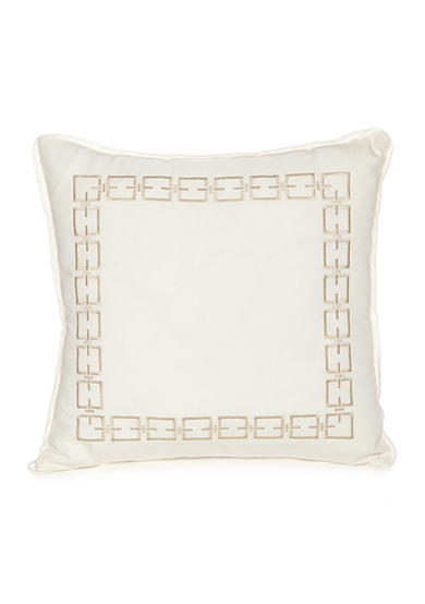 Modern. Southern. Home.™ Carson Embroidered Chain Link Decorative Pillow