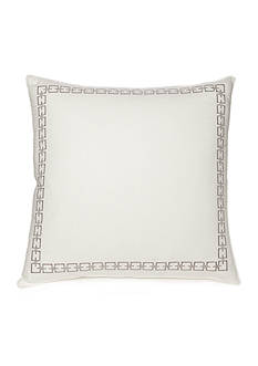 Modern. Southern. Home.™ Reece Chain Link Embroidered Euro Shams