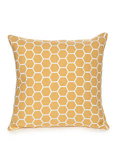 Modern. Southern. Home.™ Reece Embroidered Hexagon Decorative Pillow