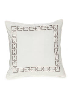 Modern. Southern. Home.™ Reece Embroidered Chain Link Decorative Pillow