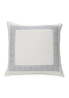 Modern. Southern. Home.™ Brooke Embroidered Greek Key Decorative Pillow