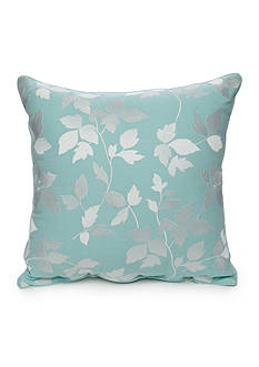Modern. Southern. Home.™ Elm Embroidered Leaf Decorative Pillow