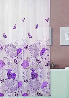 Dainty Home Garden 13 Pieces Shower Curtain Set