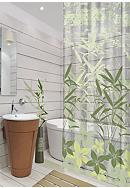 Dainty Home Oasis 13 Pieces Shower Curtain Set