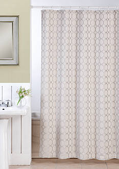 Dainty Home Orbits Shower Curtain