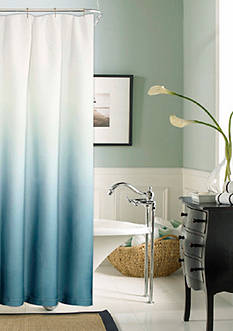 Dainty Home Shades Shower Curtain