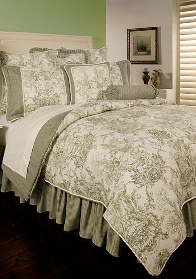 Sherry Kline Country Toile Comforter Set Belk