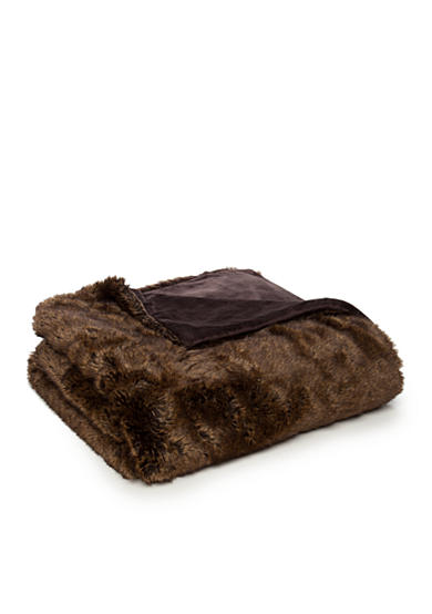 Biltmore® Faux Fur Throw