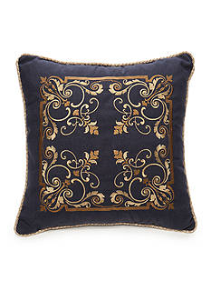 Biltmore Chateau Embroidered Square Decorative Pillow