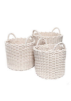 Modern. Southern. Home.™ Round Cotton Rope Basket