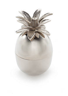 Modern. Southern. Home.™ Small Decorative Metal Pineapple Box
