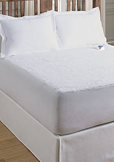 Serta® SERTA HEATED SHERPA MATTRESS PADFULL