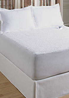 Serta® SERTA HEATED SHERPA MATTRESS PADCAL KING
