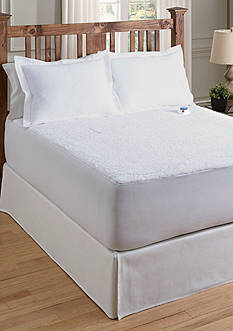Serta® SERTA SHERPA PLUSH SHEET PROGRAMMABLE HEATED ELECTRIC WARMING MATTRESS PAD TWIN