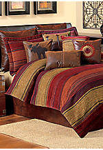 Plateau Multicolored Queen Comforter Set 92-in. x 96-in.