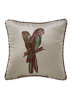 Croscill Anguilla Parrot Decorative Pillow